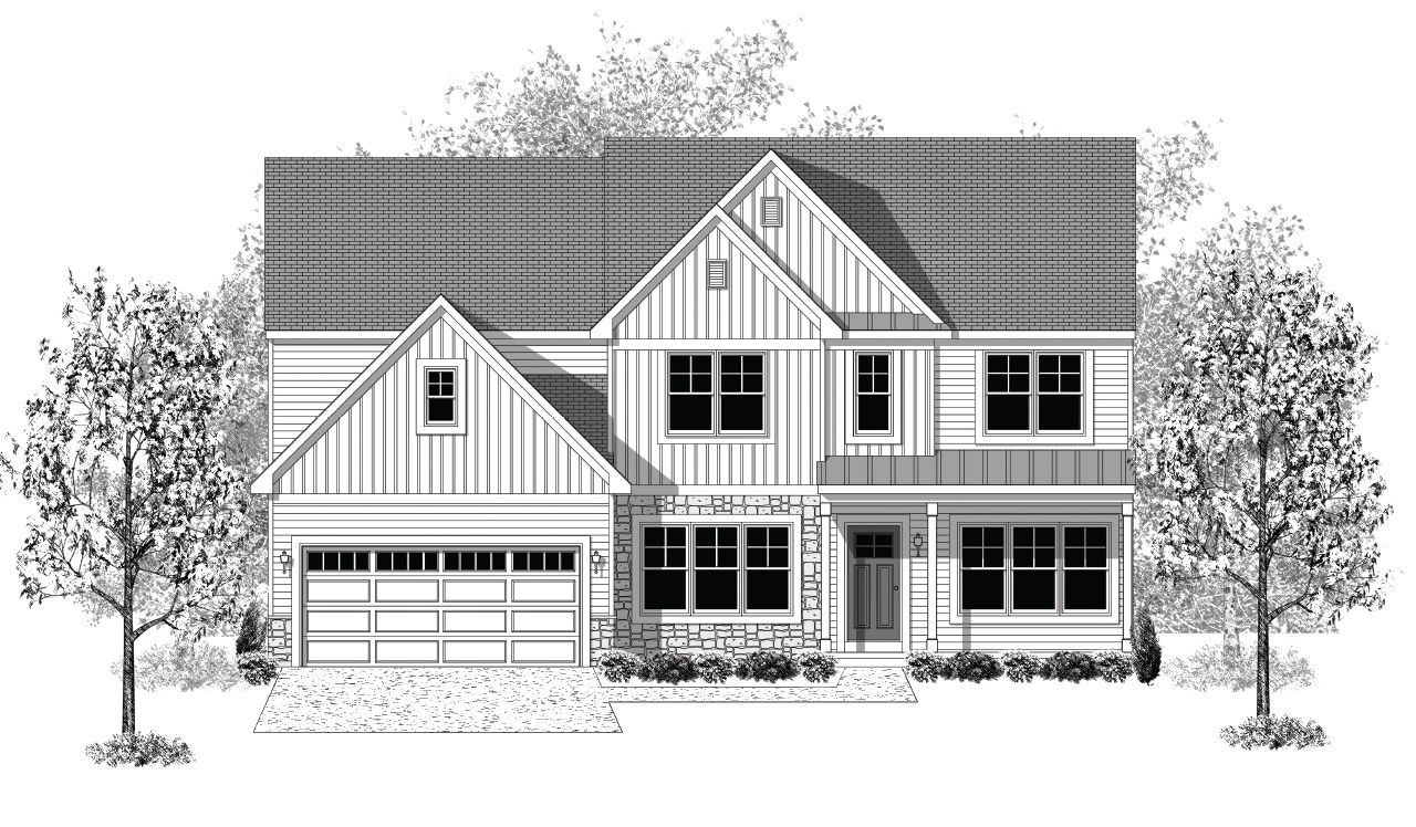 Exterior featured in the Kingston By Landmark Homes  in Harrisburg, PA