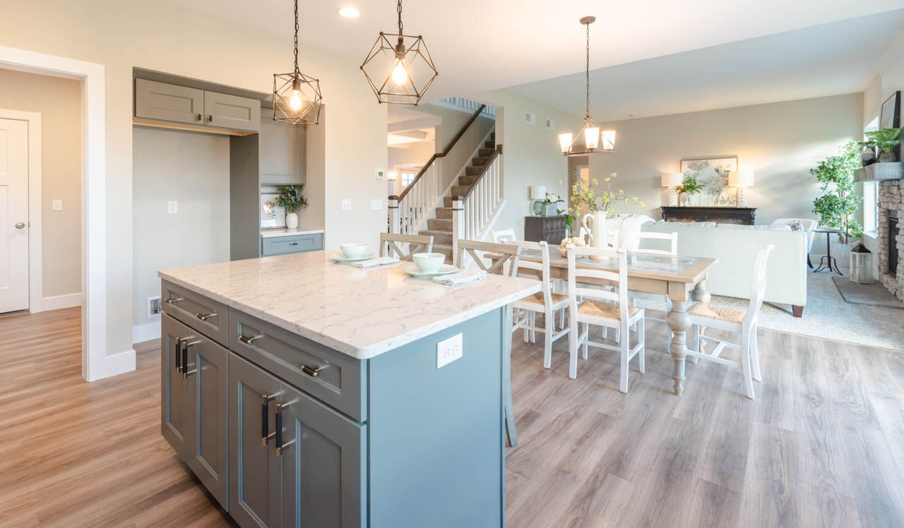 Kitchen featured in the Kingston By Landmark Homes  in Lancaster, PA