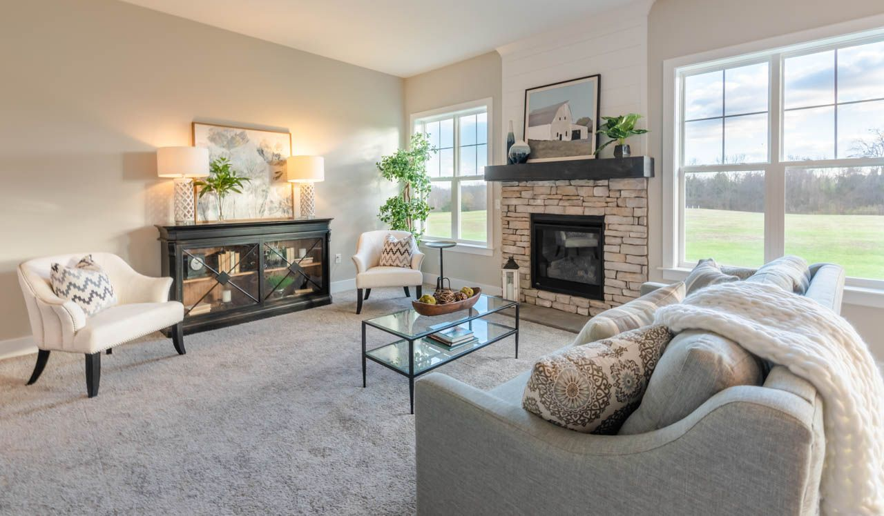 Living Area featured in the Kingston By Landmark Homes  in Lancaster, PA