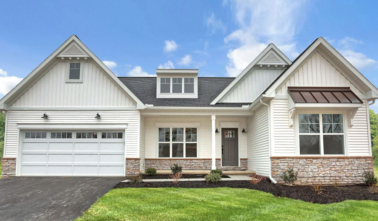 Exterior featured in the Northfield By Landmark Homes  in Lancaster, PA