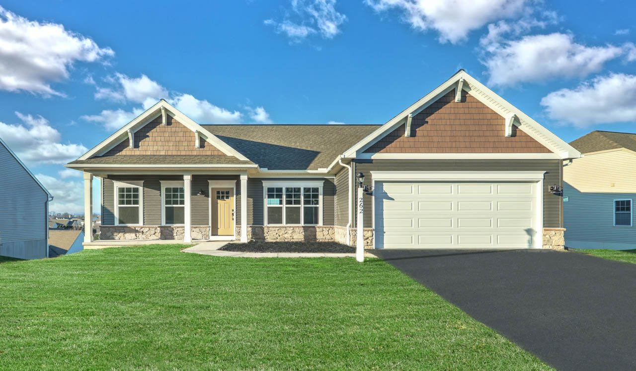 Exterior featured in the Morrison By Landmark Homes  in Reading, PA