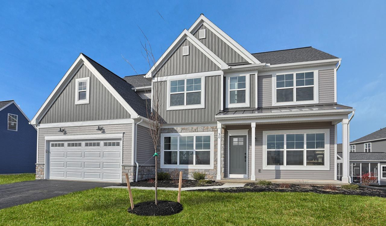 Exterior featured in the Kingston By Landmark Homes  in Lancaster, PA