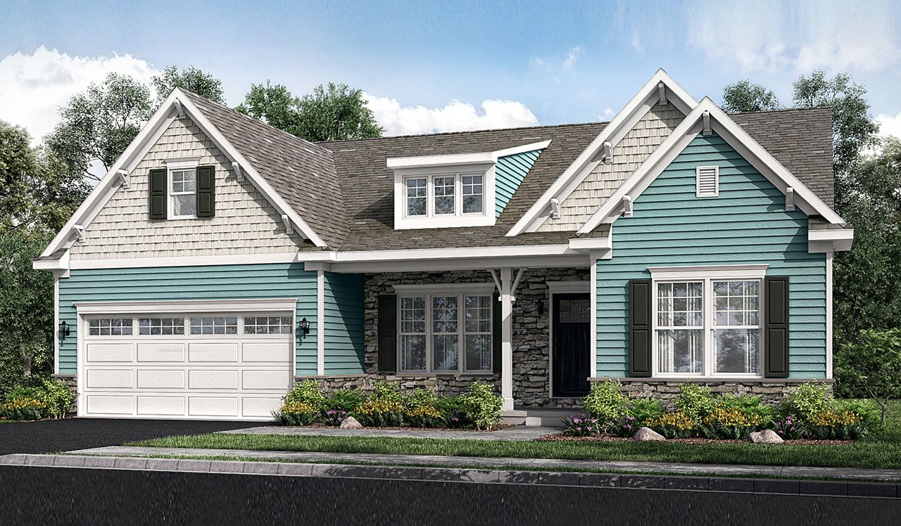 Exterior featured in the Bennett By Landmark Homes  in Reading, PA