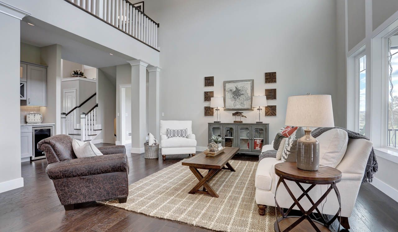 Living Area featured in the Sullivan By Landmark Homes  in Lancaster, PA