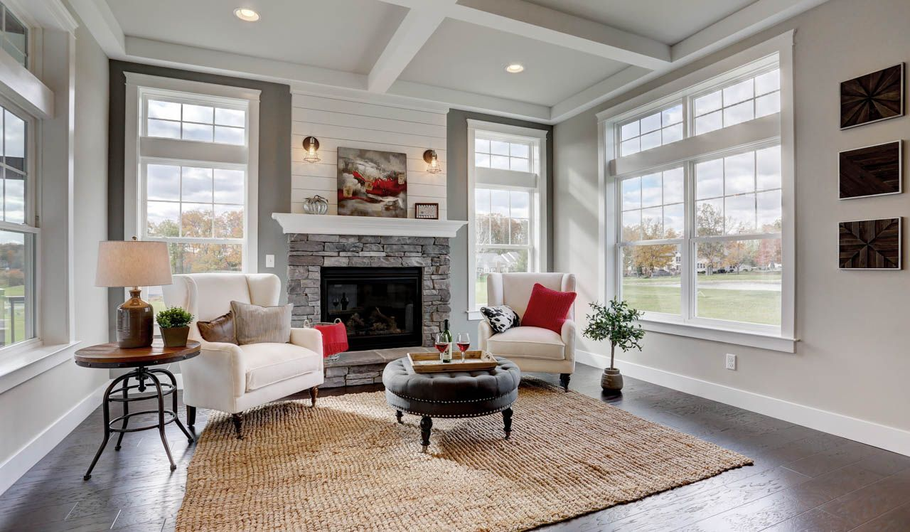 Living Area featured in the Sullivan By Landmark Homes  in Harrisburg, PA