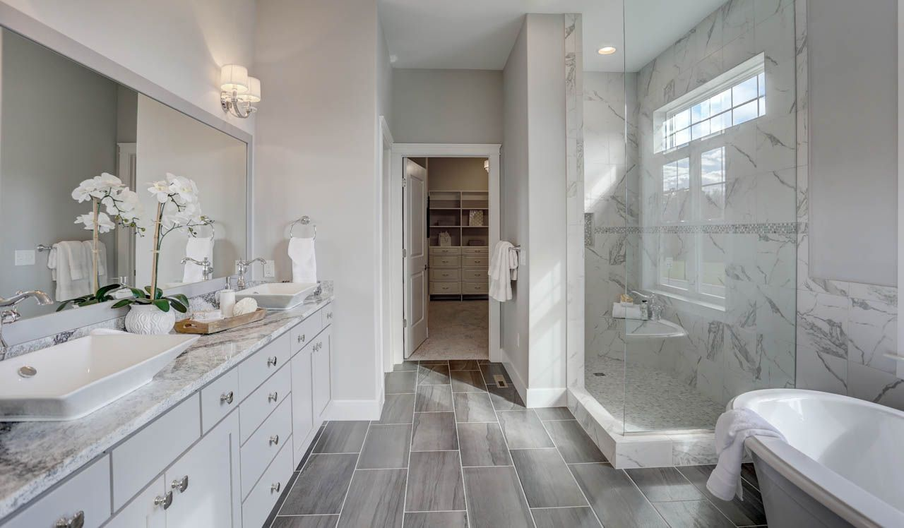 Bathroom featured in the Sullivan By Landmark Homes  in Lancaster, PA