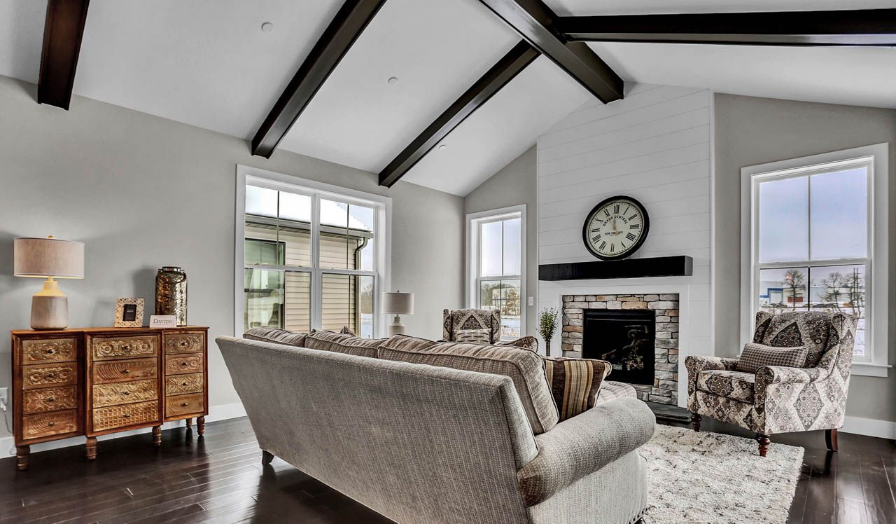 Living Area featured in the Avery  By Landmark Homes  in Harrisburg, PA