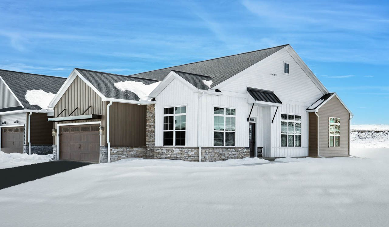Exterior featured in the Carrington Townhome By Landmark Homes  in Harrisburg, PA