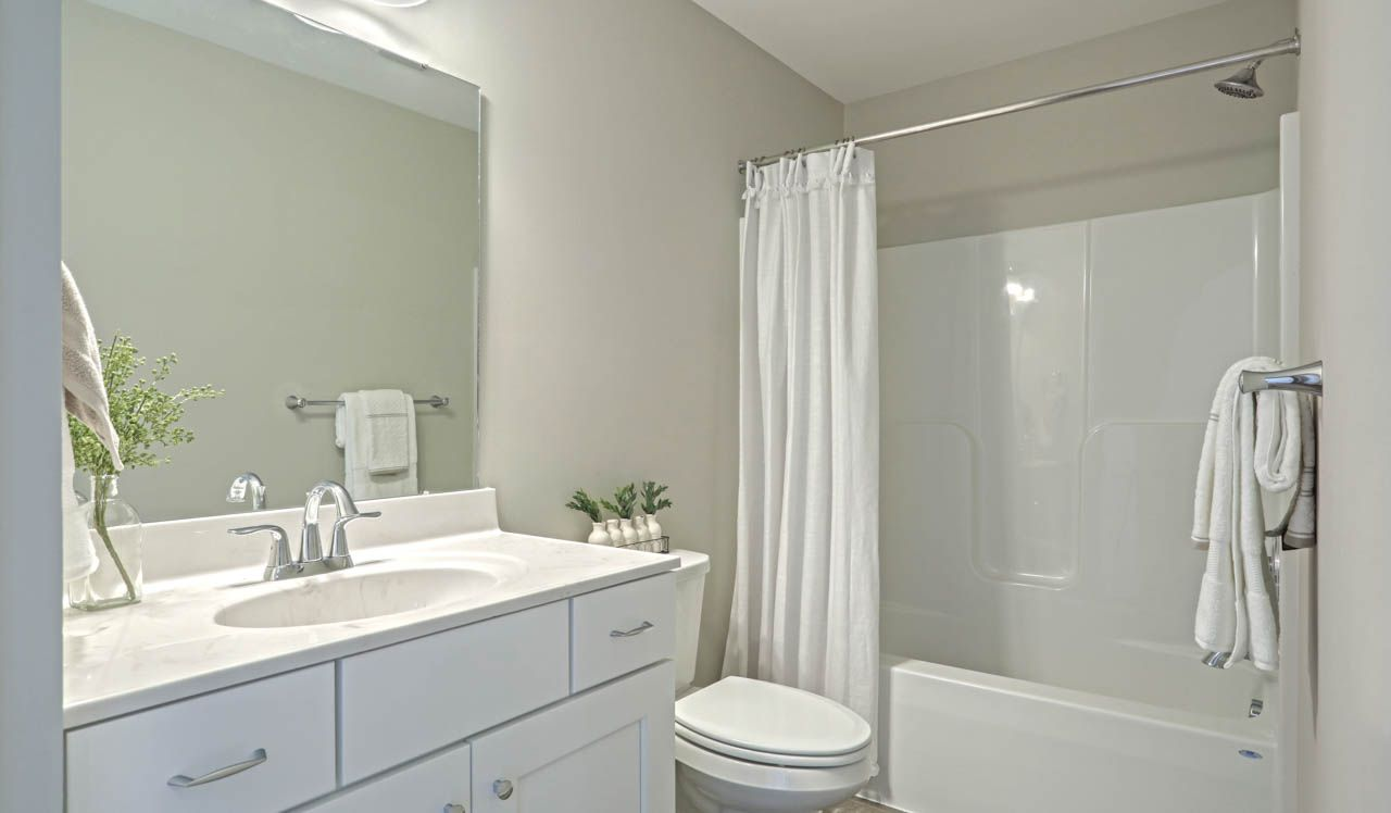 Bathroom featured in the Cheshire Townhome By Landmark Homes  in Harrisburg, PA