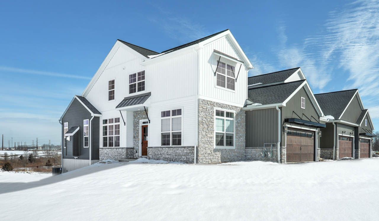 Exterior featured in the Cheshire Townhome By Landmark Homes  in Harrisburg, PA