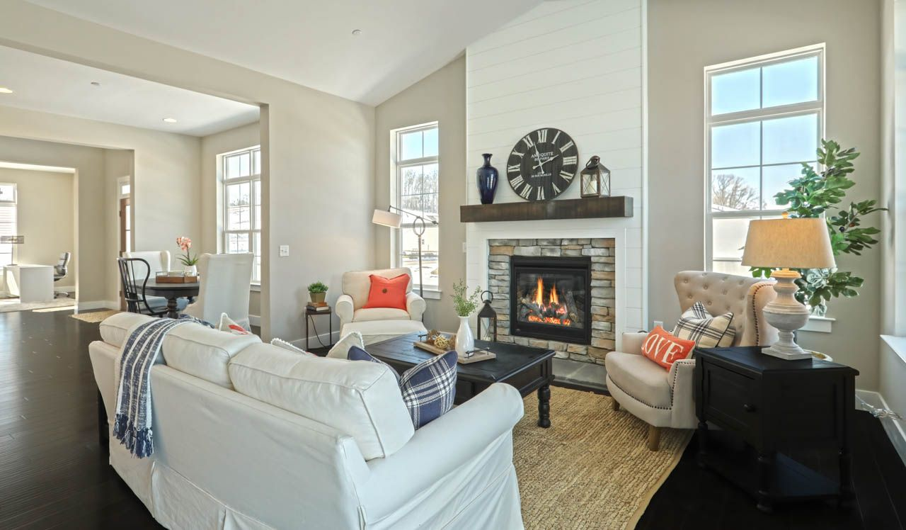 Living Area featured in the Cheshire Townhome By Landmark Homes  in Harrisburg, PA