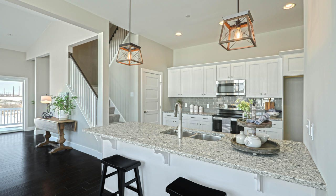 Kitchen featured in the Cheshire Townhome By Landmark Homes  in Harrisburg, PA
