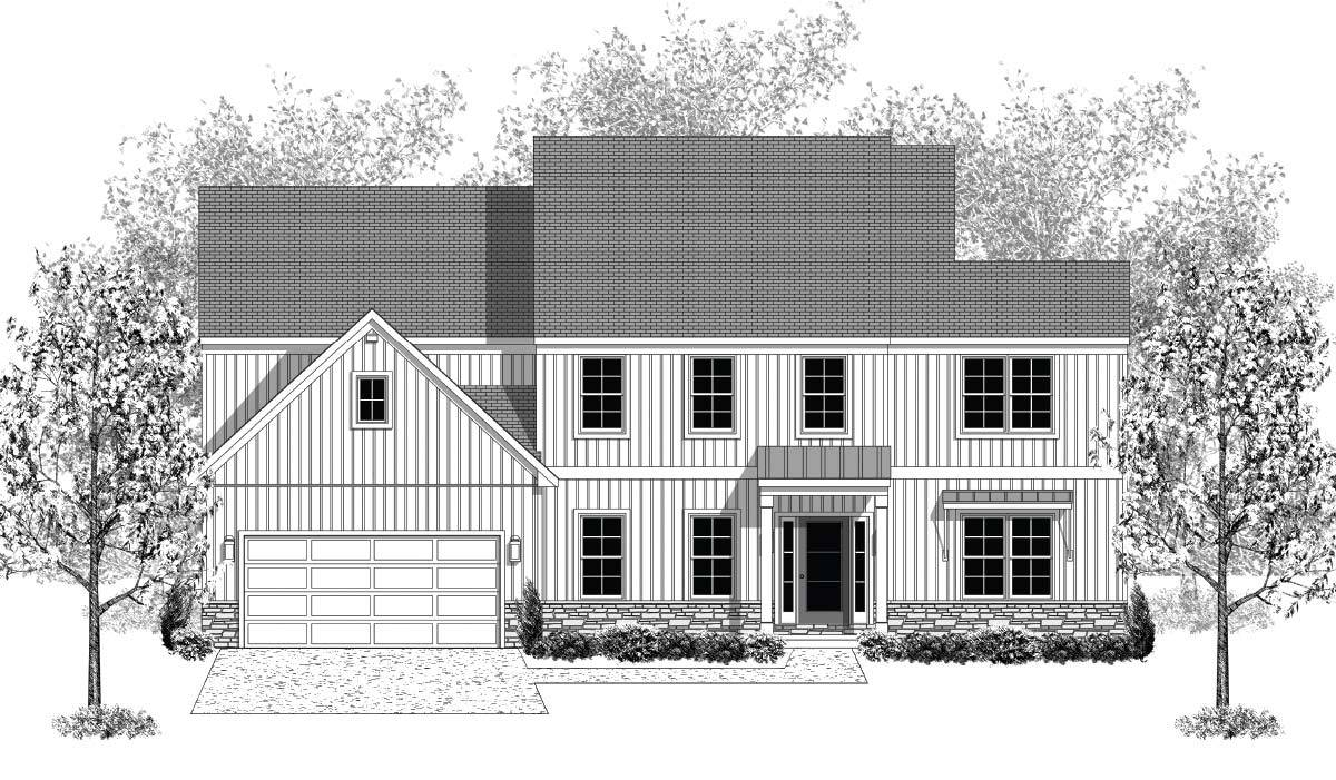 Exterior featured in the Brookfield By Landmark Homes  in Lancaster, PA