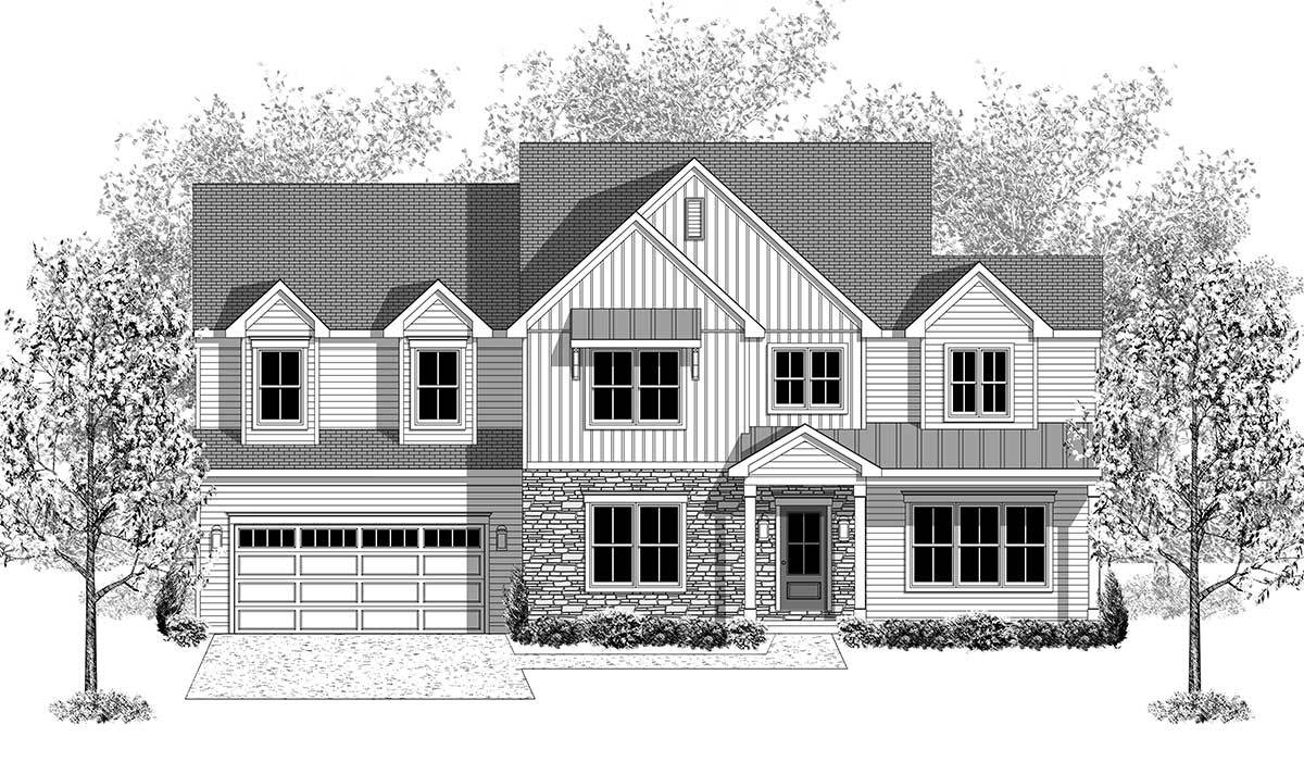 Exterior featured in the Brookfield By Landmark Homes  in Harrisburg, PA