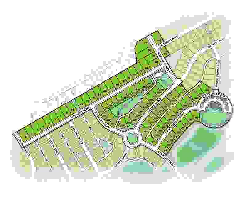 Wright's Landing Community Sitemap