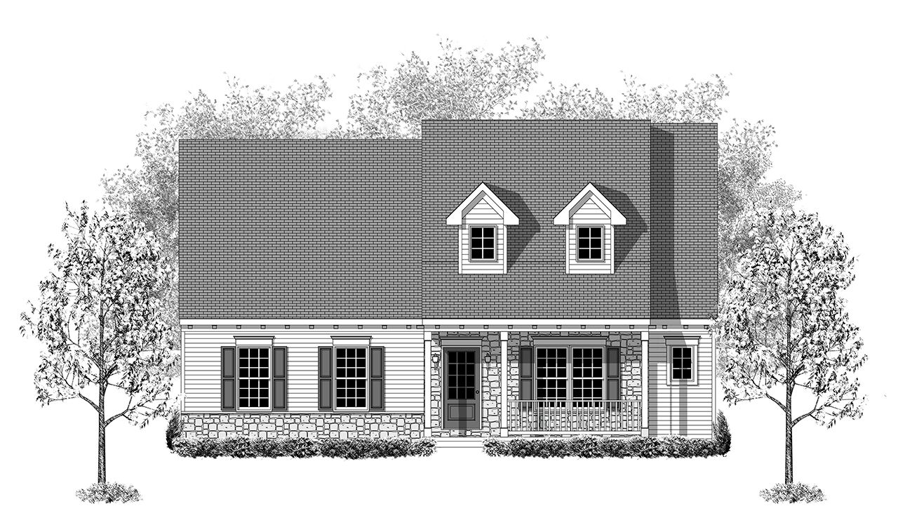 Exterior featured in the Answorth By Landmark Homes  in Harrisburg, PA