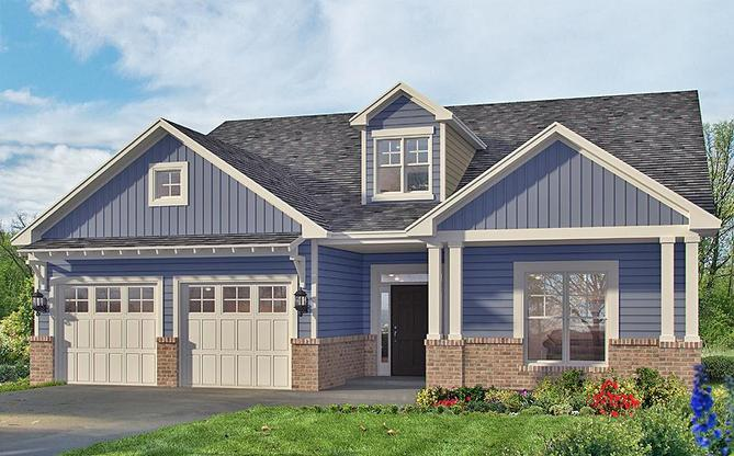 Roxboro LE Elevation:Available in Select Landmark 24 Communities