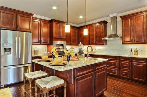 Kitchen-in-Spring Willow-at-Harmony-in-Pooler
