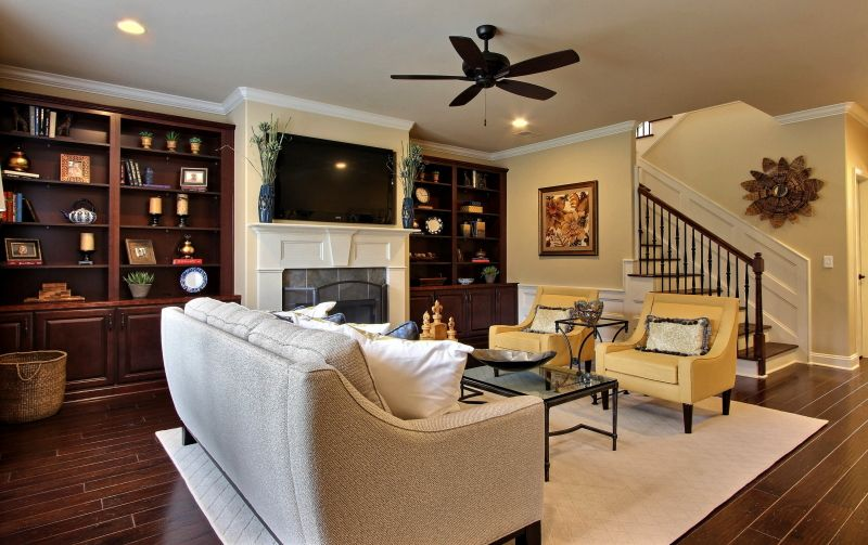 Living Area featured in the Spring Willow By Landmark 24 Homes  in Savannah, GA
