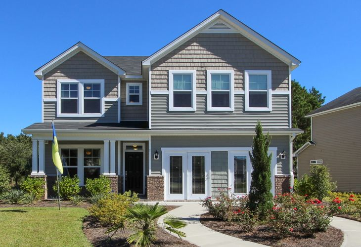 Elevation C:Richmond model home
