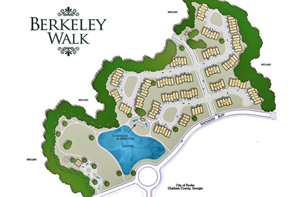 Pooler Ga Zip Code Map.Berkeley Walk In Pooler Ga By Landmark 24 Homes