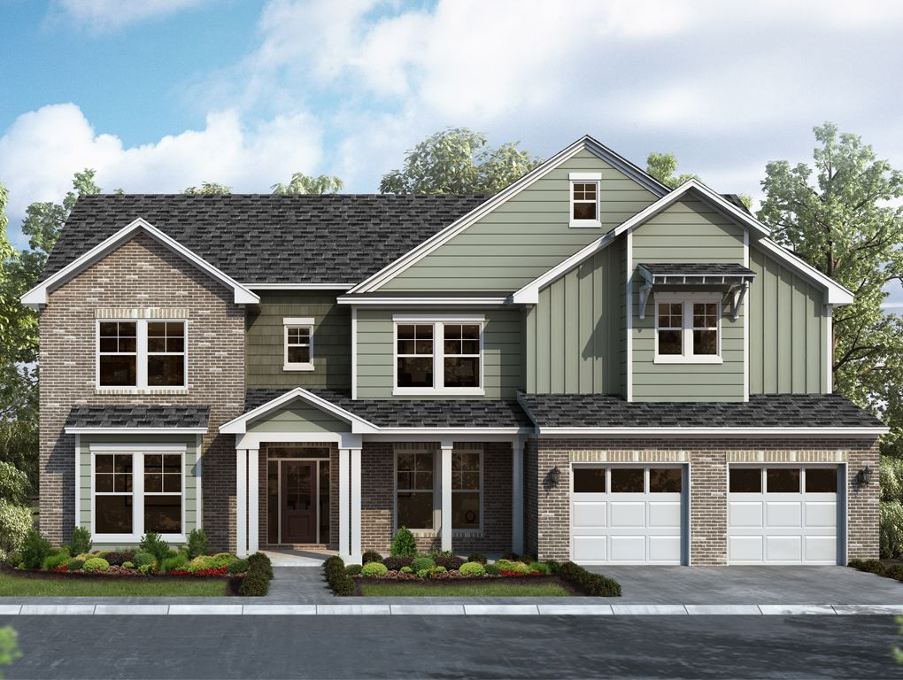 Exterior featured in the Brookhaven By Landmark 24 Homes  in Savannah, GA