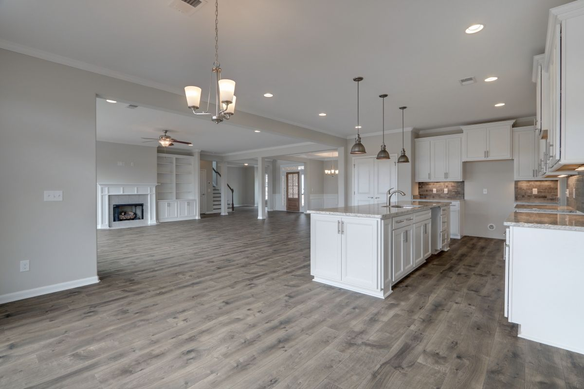 Kitchen featured in the Brookhaven By Landmark 24 Homes  in Savannah, GA