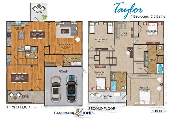 Taylor floor plan layout