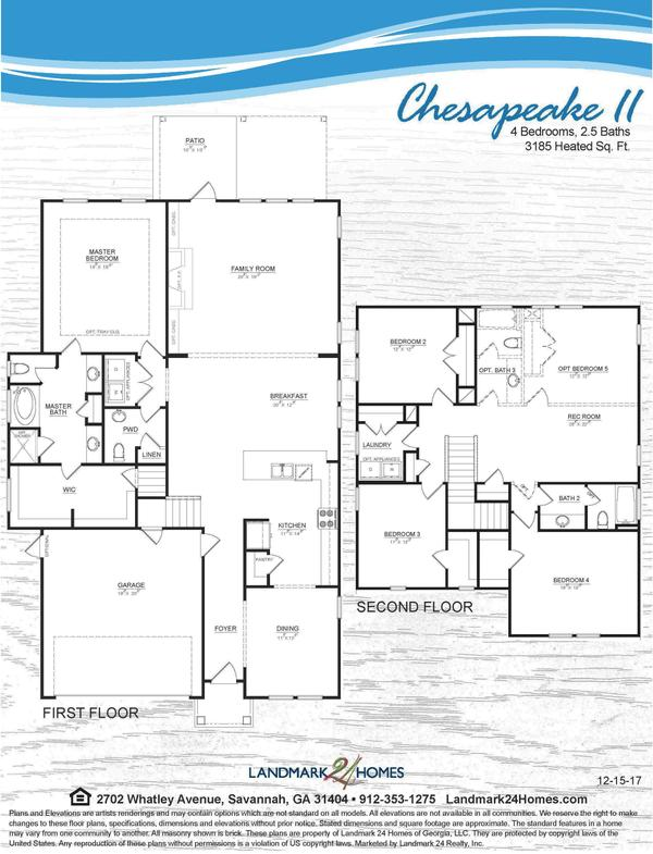 Chesapeake II Floorplan