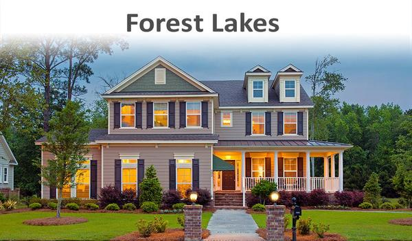 Forest Lakes in Pooler, GA by Landmark 24 Homes