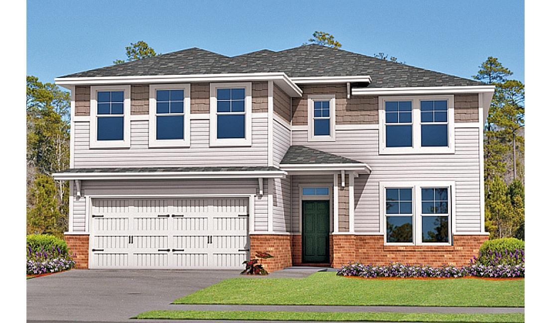 Exterior featured in the Spring Willow By Landmark 24 Homes  in Savannah, GA