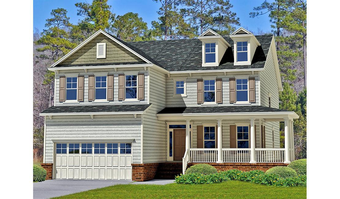 Exterior featured in the Spring Willow By Landmark 24 Homes  in Charleston, SC
