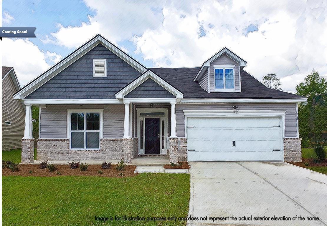 Exterior featured in the Roxboro By Landmark 24 Homes  in Savannah, GA