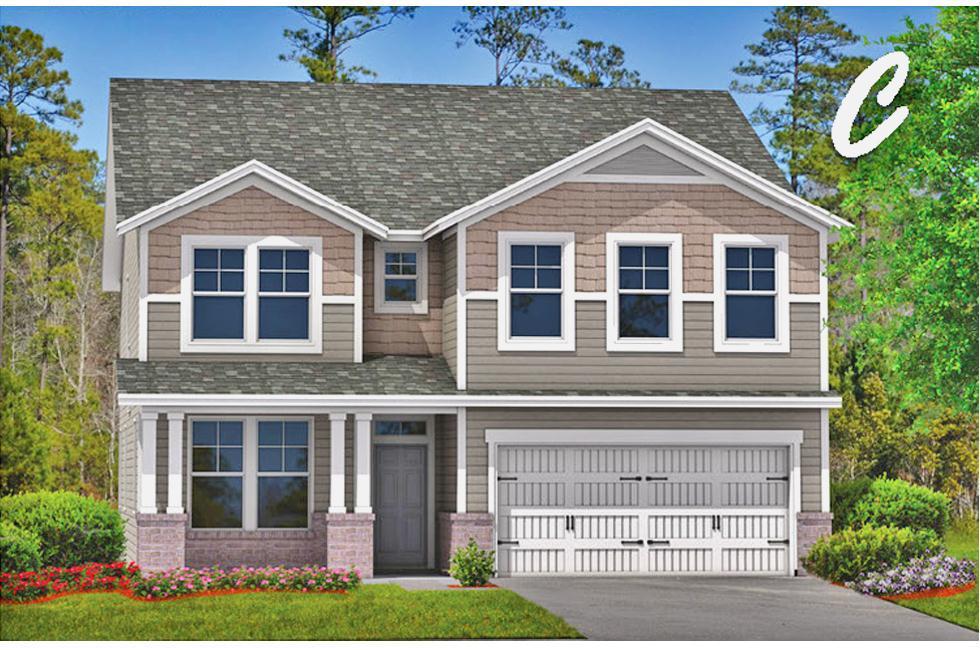 Exterior featured in the Richmond By Landmark 24 Homes  in Savannah, GA