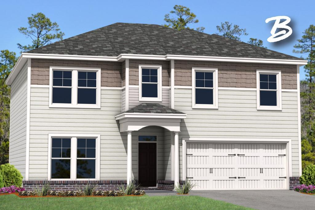 Exterior featured in the Spring Mountain II  By Landmark 24 Homes  in Savannah, GA