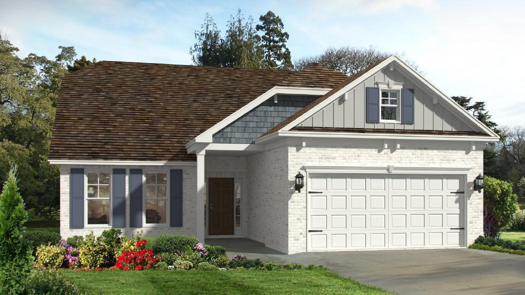 Exterior featured in the Pinehurst II By Landmark 24 Homes  in Savannah, GA