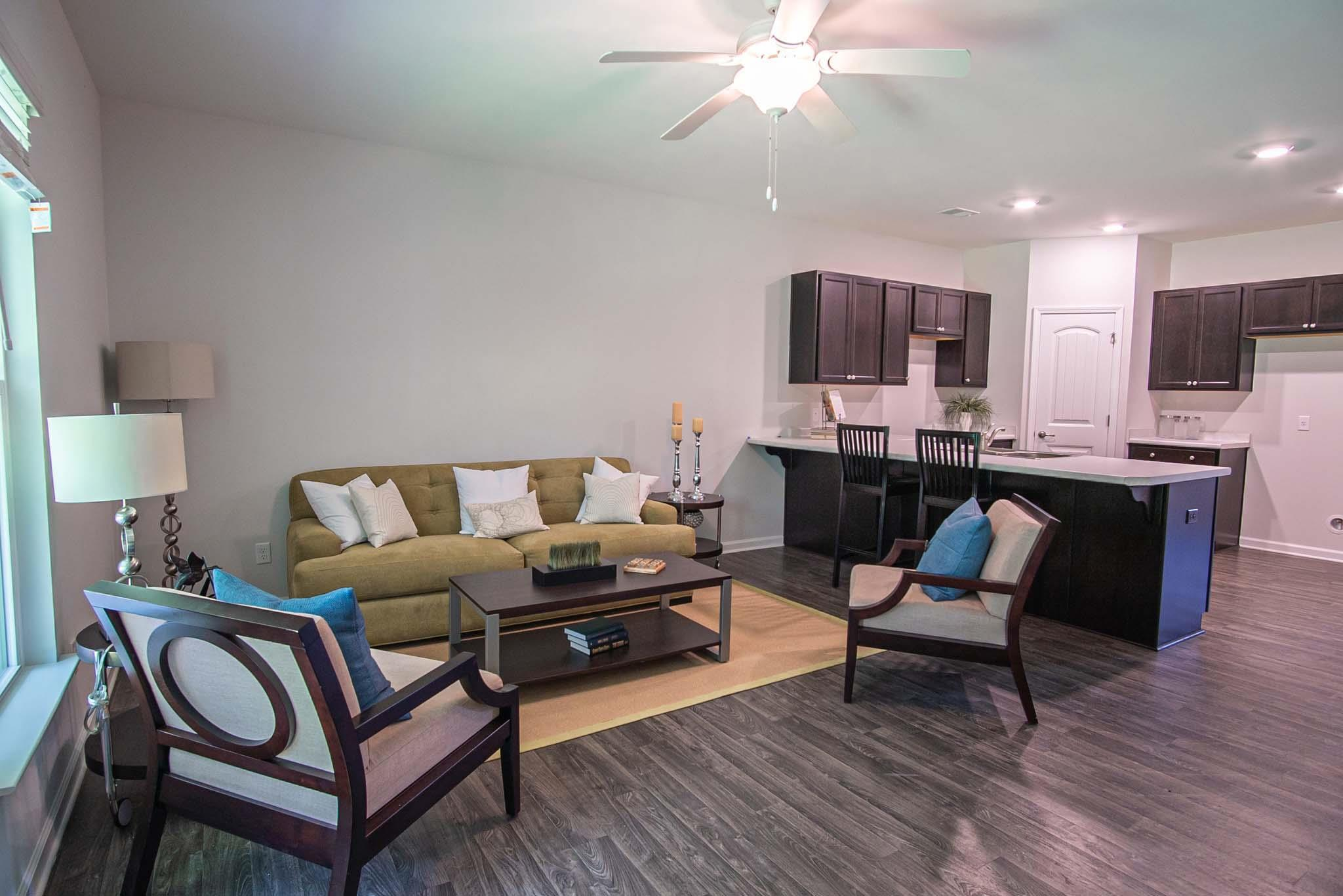 Living Area featured in the Georgetown By Landmark 24 Homes  in Savannah, GA