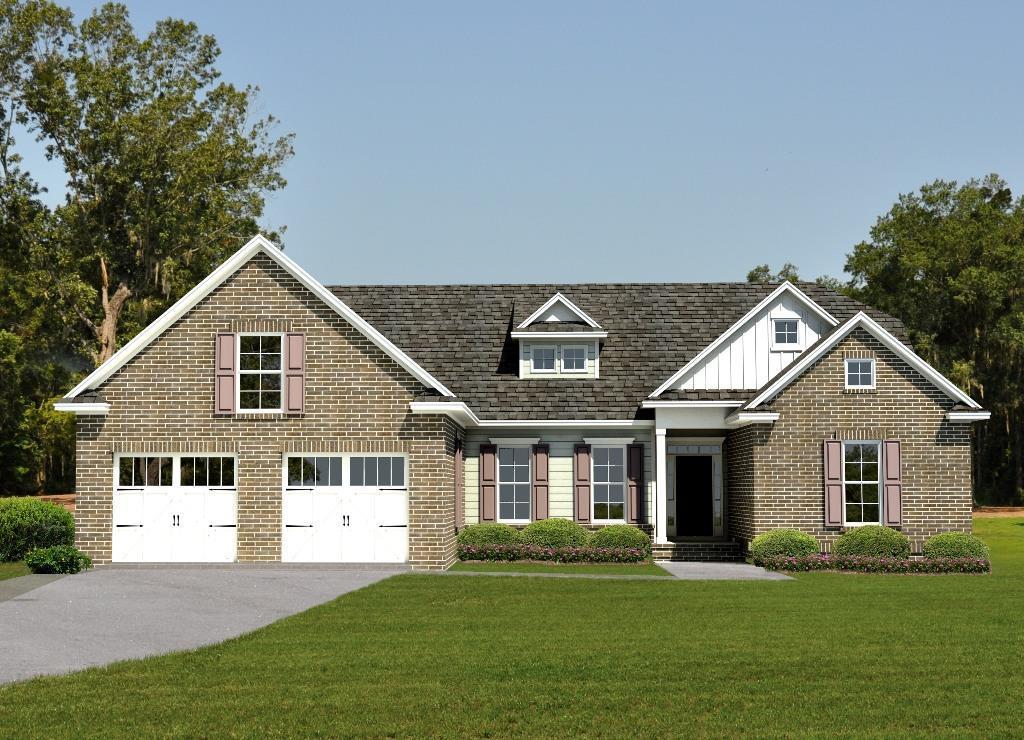 Exterior featured in the Charleston II By Landmark 24 Homes  in Savannah, GA