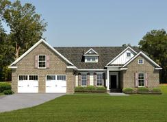 Charleston II - Carriage Gate Plantation: Brunswick, Florida - Landmark 24 Homes
