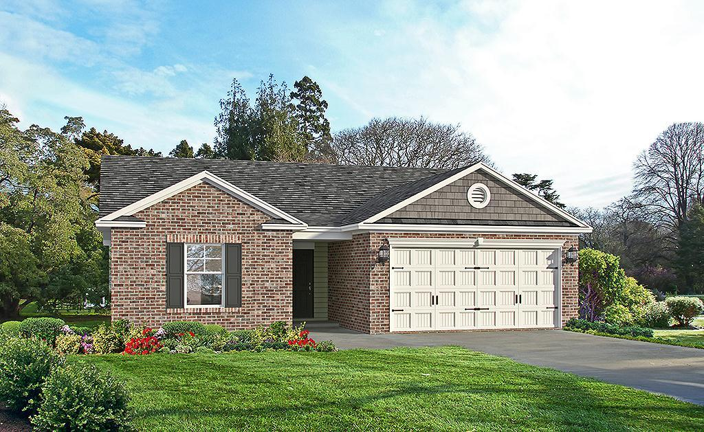 Exterior featured in the Spring Garden TR By Landmark 24 Homes  in Savannah, GA