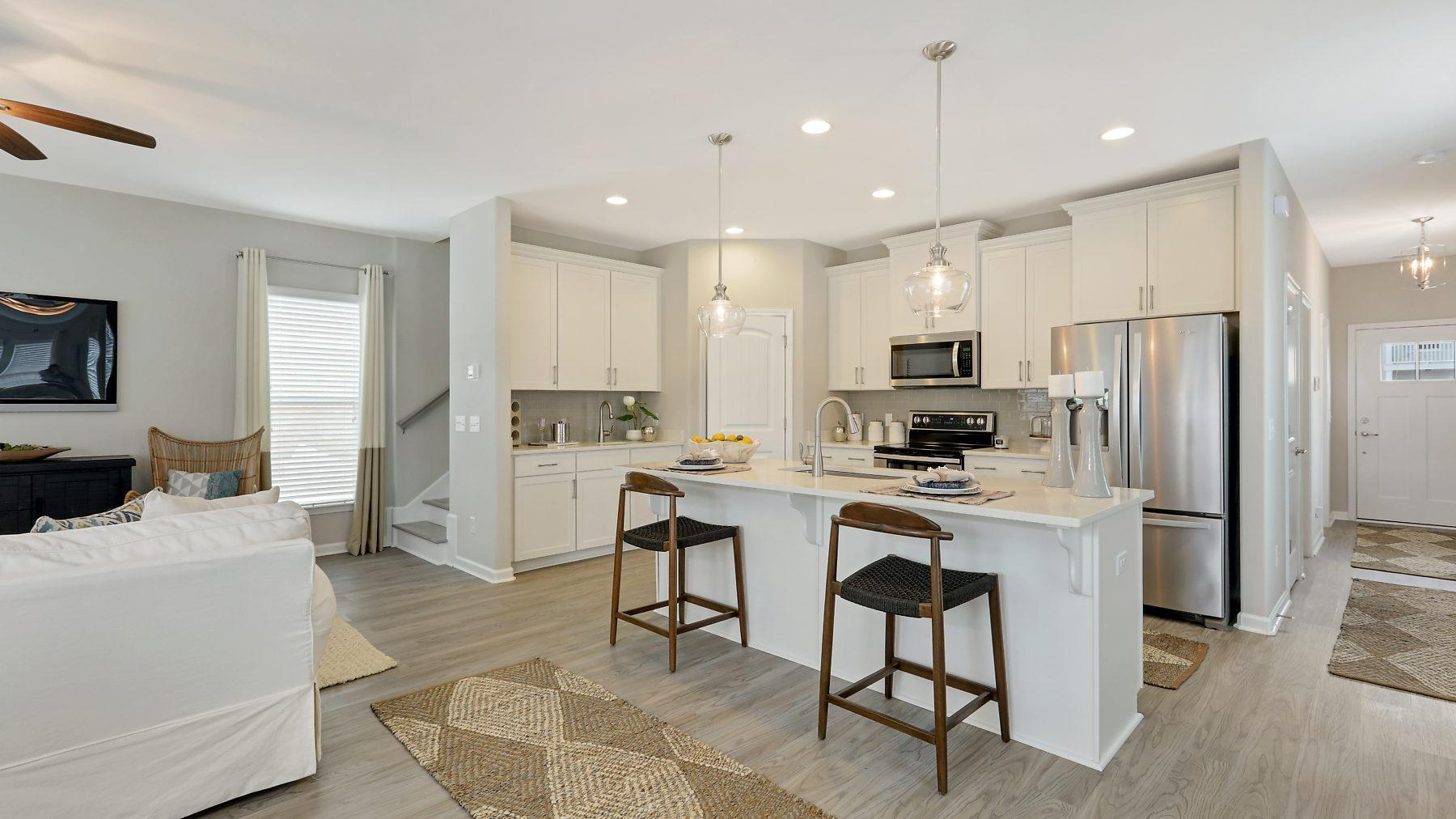 Kitchen featured in the Harborside By Landmark 24 Homes  in Savannah, GA