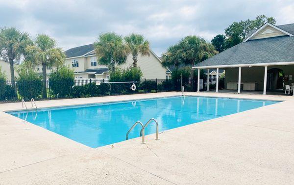 Pool and  Pavillion