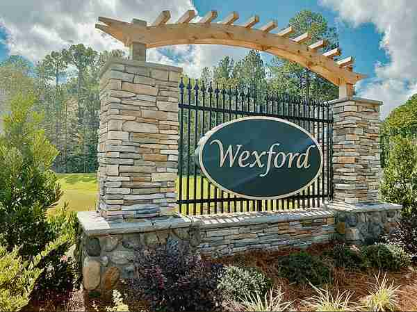 Wexford Community Entrance Sign