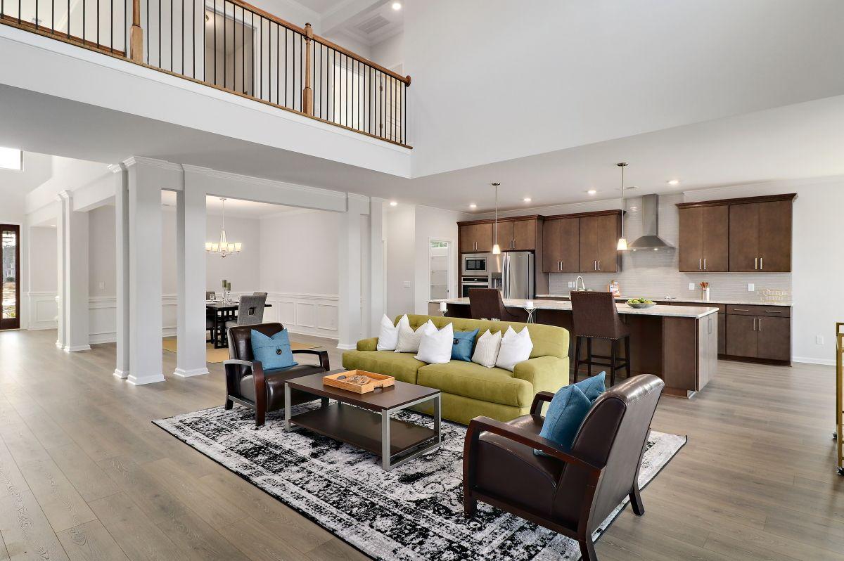 Living Area featured in the Colleton II By Landmark 24 Homes  in Savannah, GA