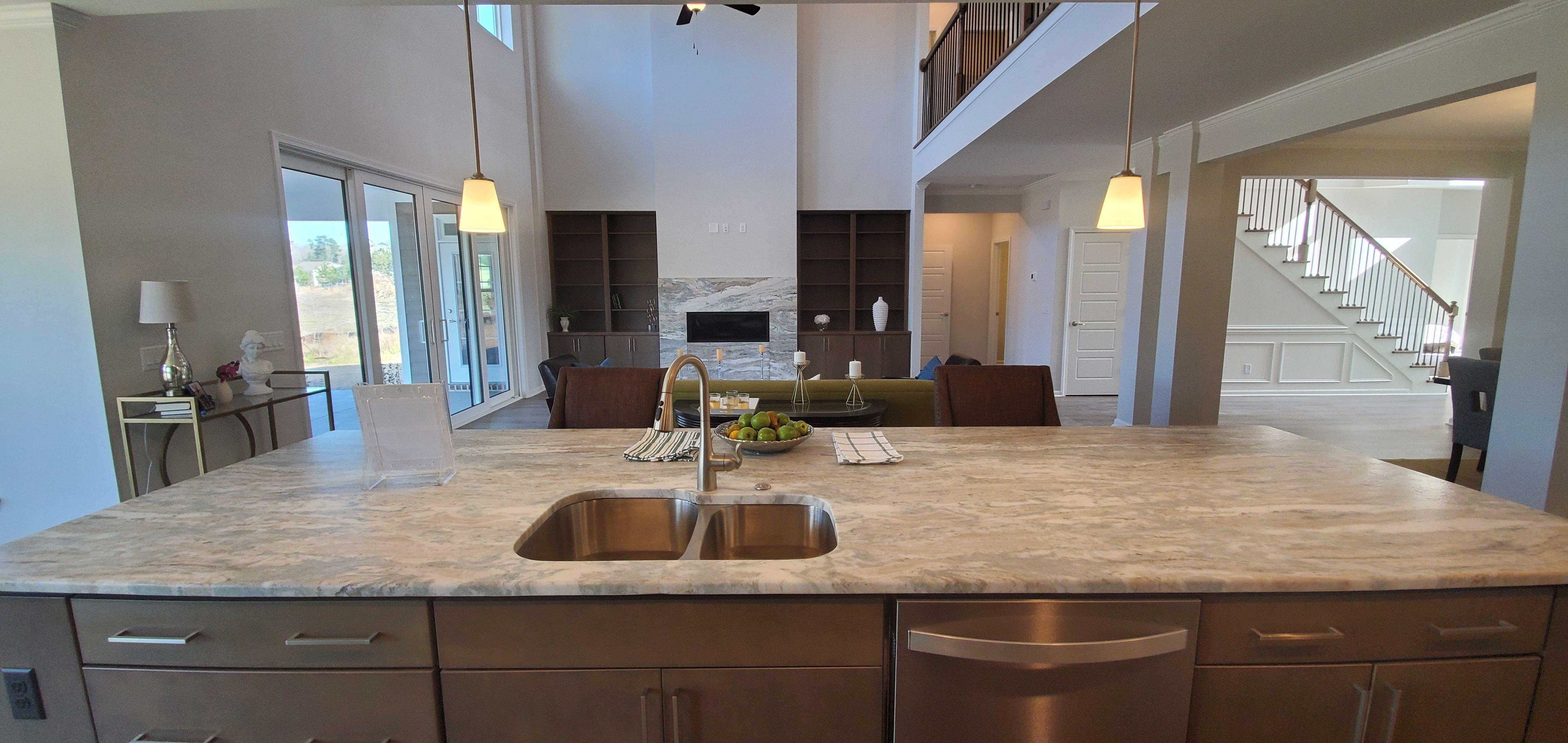 Kitchen featured in the Colleton II By Landmark 24 Homes  in Savannah, GA
