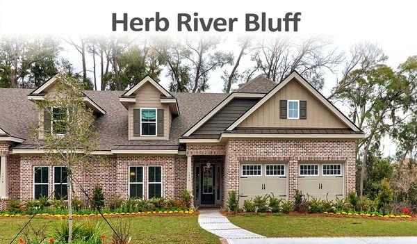 Herb River Bluff Blue Heron Model