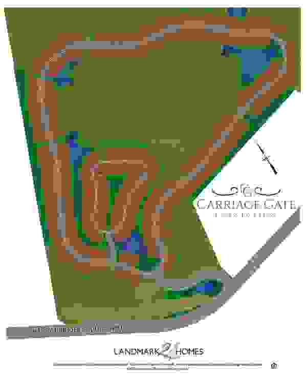 Carriage Gate Lot Map