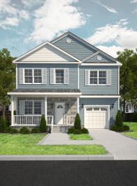 The Maplewood w/ Morning Room - Hampton Spot Lots: Hampton, Virginia - Landmark Building Group