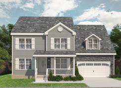 The Victoria Model - Hampton Spot Lots: Hampton, Virginia - Landmark Building Group