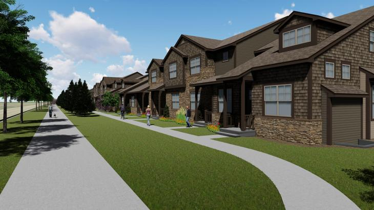 Country Farms Village:Rendering